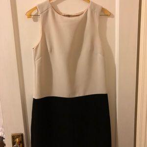 H&M color block sleeveless dress